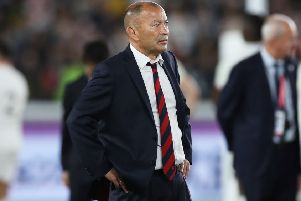 Eddie Jones, head coach of England looks on after his team's defeat in the Rugby World Cup 2019 Final between England and South Africa at International Stadium Yokohama. (Picture: David Rogers/Getty Images)