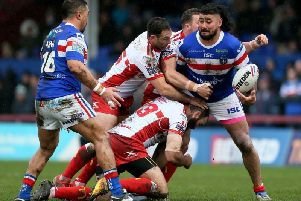 Wakefield Trinity will travel to Hull KR for their 2020 Super League opener. PIC:Richard Sellers/PA Wire.