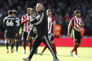 Sheffield United manager Chris Wilder. Picture: Simon Bellis/Sportimage