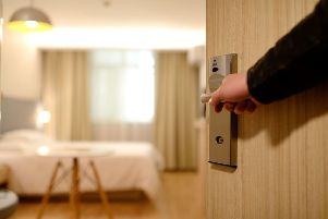 Choosing a hotel room online is frraught with risks