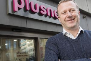 Plusnet boss Andy Baker at the Sheffield headquarters.