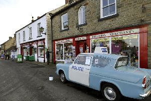 Goathland is famous for its appearances at the village of Aidensfield in Heartbeat