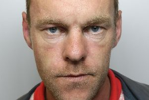 'Menace': Dominic McPhillips was jailed for 32 months after he drove the wrong way on the M62 during police chase in stolen van
