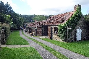 Ryedale Folk Museum in Hutton-le-Hole.