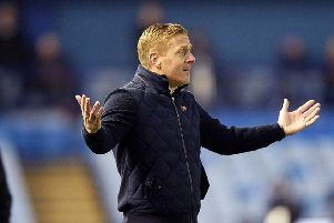 Not again: Owls manager Garry Monk after his team throw away another win.