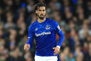 Everton's Andre Gomes: Should recover.