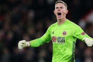 England call-up for Dean Henderson.