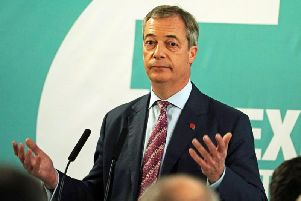 Brexit Party leader Nigel Farage. Photo: PA