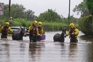 Flooding in Yorkshire PA Wire/Danny Lawson