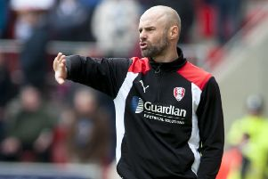Rotherham manager Paul Warne.