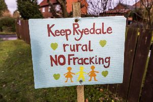 Should anti-fracking signs be removed from Ryedale's roads?