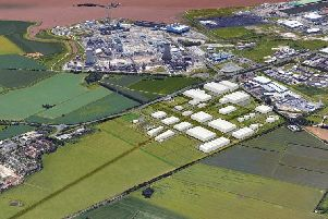 Artist's impression of the development site between Hull and Hedon