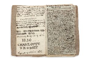 One of the rare Charlotte Bront 'little books' will be returned to Haworth after a 600,000 auction win.