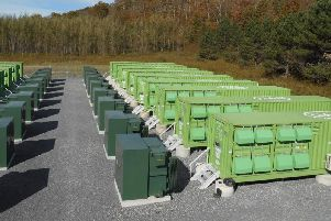 The type of battery storage which is planned for Cottingham's Creyke Beck sub station