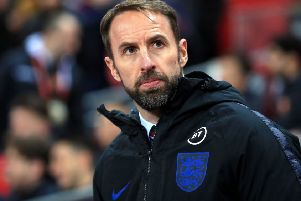 England manager Gareth Southgate during the UEFA Euro 2020 Qualifying match at Wembley last week (Picture: PA)