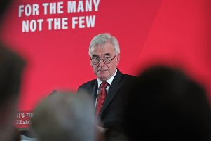 Shadow Chancellor John McDonnell has attacked the super-rich,