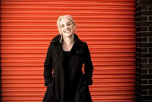 Katie Chatburn, who now has a studio in Hebden Bridge. Picture: Robin Clewley