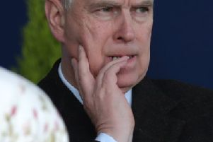 The Duke of York. Photo: Andrew Matthews/PA Wire
