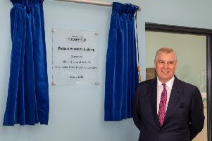 Prince Andrew is stepping down from his post at Huddersfield University.