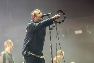 Liam Gallagher in concert at Fly DSA Arena, Sheffield. Picture: Anthony Longstaff