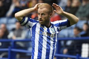 Barry Bannan of Sheffield Wednesday reacts during the Sky Bet Championship match between Sheffield Wednesday and Wigan Athletic at Hillsborough on October 5, 2019. (Picture: George Wood/Getty Images)