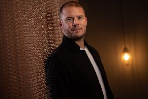 Hairdresser of the Year 2019 Robert Eaton, pictured at the Leeds Russell Eaton salon. Picture by James Hardisty