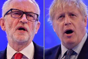 Jeremy Corbyn and Boris Johnson are expected to go head to head in a televised debate this week ahead of Britain going to the polls. Photo by Ben Stansall/AFP via Getty Images