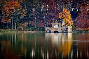 The boathouse at Newmillerdam Country Park in Wakefield.''Technical details: Fujifilm X-T3 camera with a 56mm lens using a 10-stop neutral density filter giving an exposure of 30secs at f/11, ISO 160.