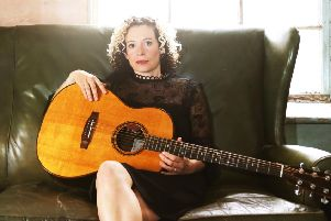 The folk singer is on tour in December. (Picture credit David Angel).