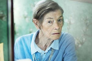 Glenda Jackson as Maud in Elizabeth Is Missing. Picture: PA Photo/BBC/STV Productions/Mark Mainz.