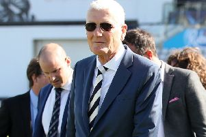 Bob Willis during day one of the First Investec Test match at Edgbaston, Birmingham, in 2017