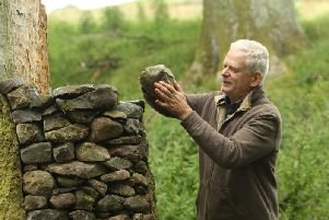 Sculptor Andy Goldsworthy. Credit: Local Democracy Reporting Service