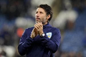 Huddersfield Town manager Danny Cowley.