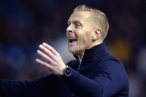 Happy day: Owls chief Garry Monk.