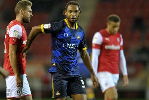 Doncaster Rovers' Kwame Thomas: On short-term deal. Picture: Tony Johnson