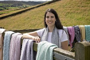 Yorkshire woman weaves a career out of Britsh wool