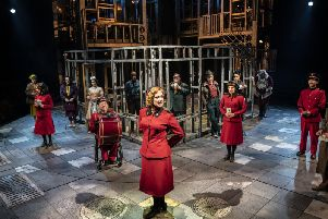 The musical Guys and Dolls is at the Crucible Sheffield for the festive season. Picture: Johan Persson
