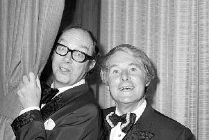 The Morecambe and Wise Christmas shows were hugely popular in the 1970s and early1980s.