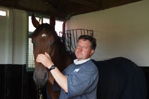 Trainer Tim Easterby.