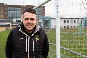 Rob Mitchell: Manager of Brighouse Ladies football team.