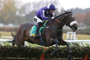 Lady Buttons made a winning comeback at Wetherby's Charlie Hall Chase meeting under Adam Nicol.