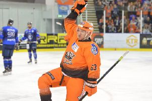 Role model: Sheffield Steelers' Brendan Connolly has been a quiet revelation since joining Aaron Fox's side. (Picture: Dean Woolley)