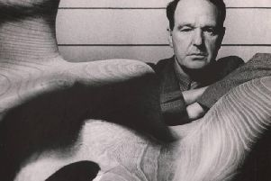 Sculptor Henry Moore in 1948, Hyman Collection.(Picture credit: Bill Brandt/Bill Brandt Archive Ltd).