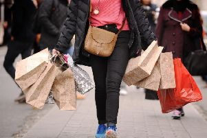 Retailers suffered their worst year on record. Pic: Dominic Lipinski/PA Wire
