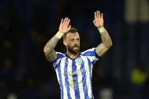 INJURY BLOW: Sheffield Wednesday's leading goalscorer Steven Fletcher is out for up to 10 weeks. Picture: Steve Ellis