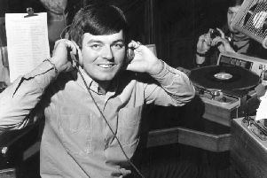 Tony Blackburn at the launch of Radio 1. (Picture credit: Evening Standard/Getty Images).