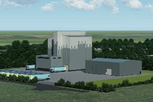 Artists impression of how the mill will appear.
