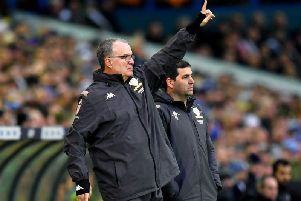Leeds United head coach Marcelo Bielsa