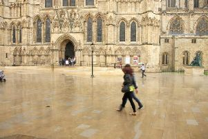 Marshalls supplied the paving outside York Minster