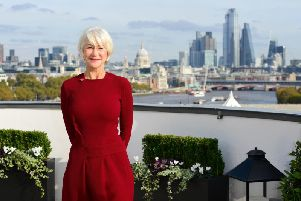 Dame Helen Mirren pictured in London